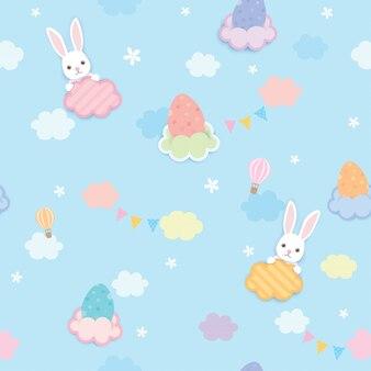 Easter sky pattern