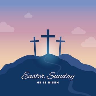Тема пасхального воскресенья