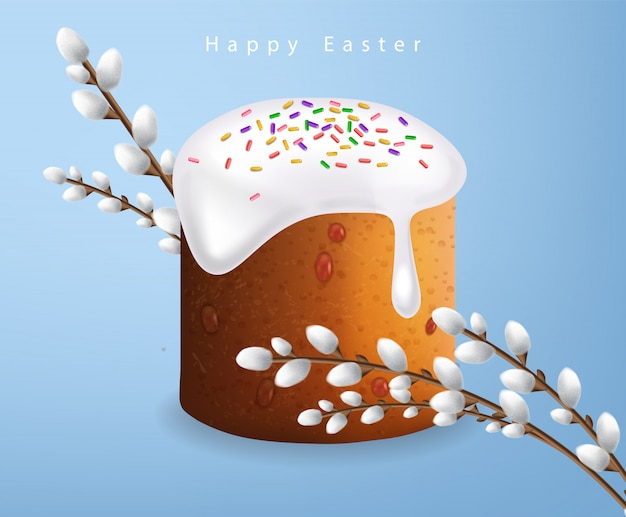 Easter traditional sweet bread