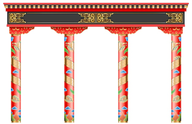 Eastern chinese arch