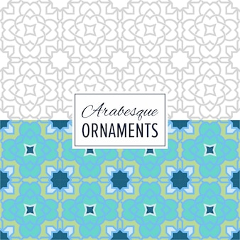 Eastern morocco seamless ornament pattern