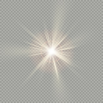 Easy to use. effect of sunlight special lens flare light.