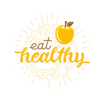 Ешьте здоровую - цитата мотивационные надписи