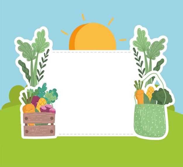 Eat local farm food