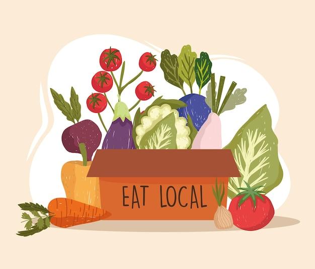 Eat local food