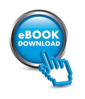 Кнопка ebook с курсором