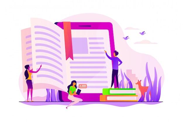 Концепция электронных книг.