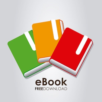 Электронная книга графическая иллюстрация