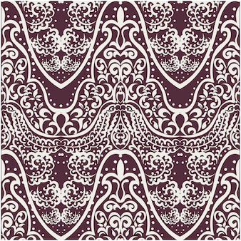 Eclectic ornamental background