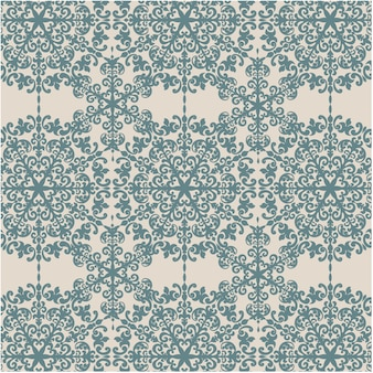 Eclectic ornamental pattern background
