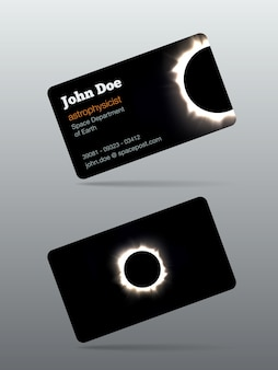 Eclipse calling card