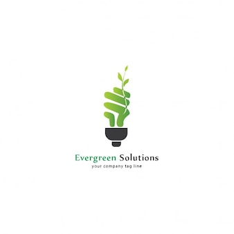 Eco bulb logo