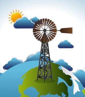 Eco energy design.
