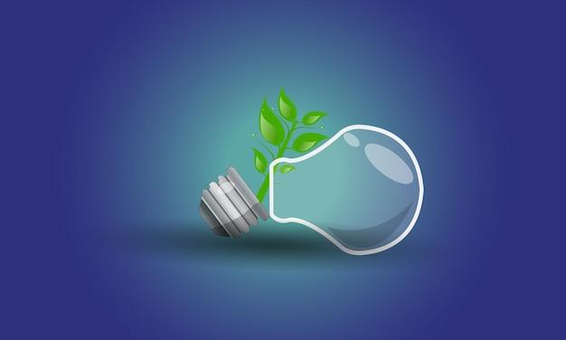 에코 에너지 플랫 아이콘 기후 변화 재생 가능한 디자인