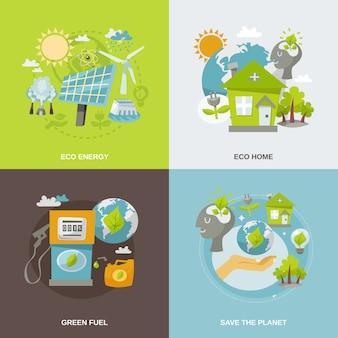 Eco energy flat