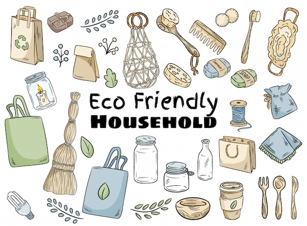Eco friendly household set
