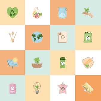 Eco friendly set