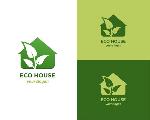 Эко дом природа логотип