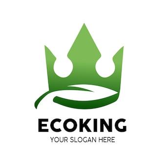 Эко король логотип