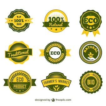Eco products этикетки
