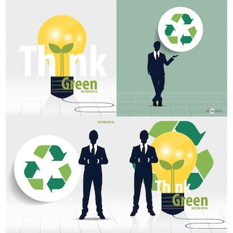 Raccolta di business ecologico