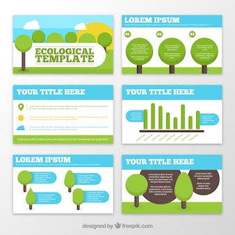 Ecological templates with trees