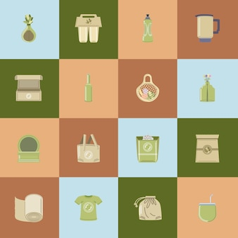 エコロジーと再利用製品