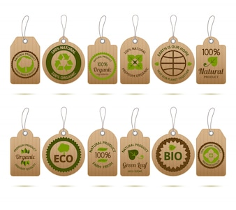 Ecology Cardboard Tags
