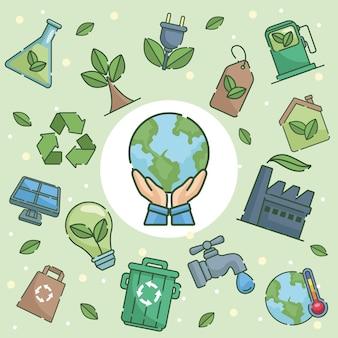 Круглая рамка экология