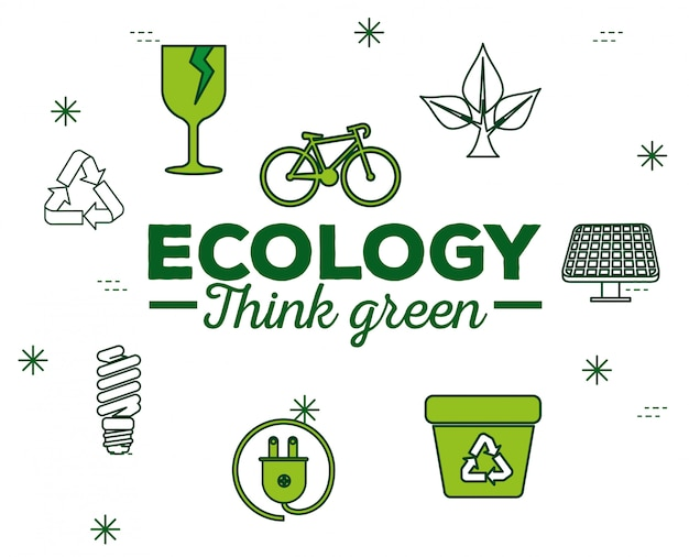 Ecology conservation with sustainable element to protection
