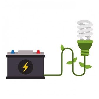 Ecology green energy