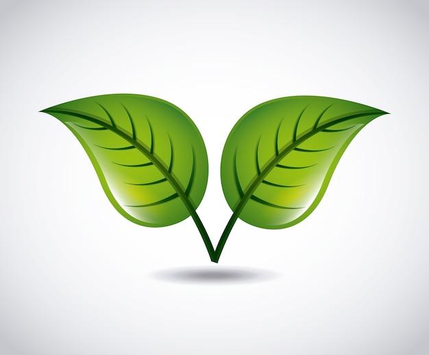 エコロジーアイコンデザイン、ベクトルイラストeps10グラフィック
