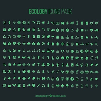Ecology icons pack - 200 icons
