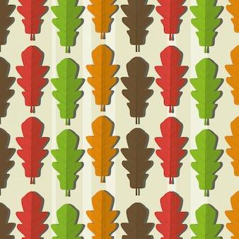 Ecology leaves pattern