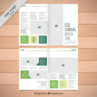 Ecology magazince template