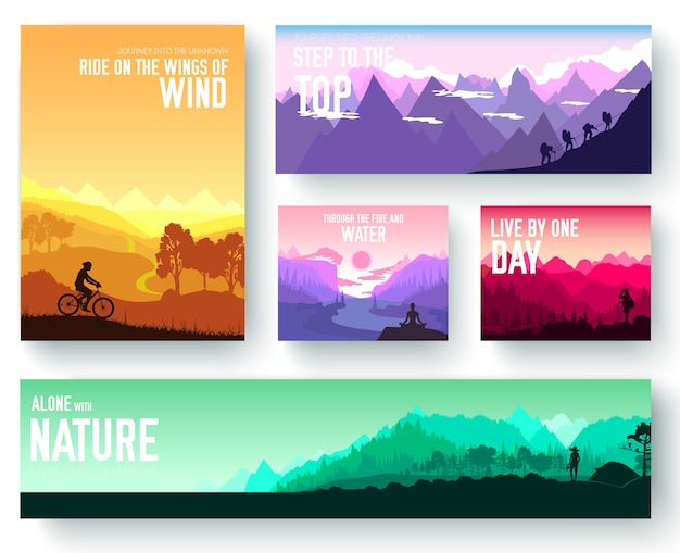 Ecology template of flyear, magazines, poster, book cover, banners.