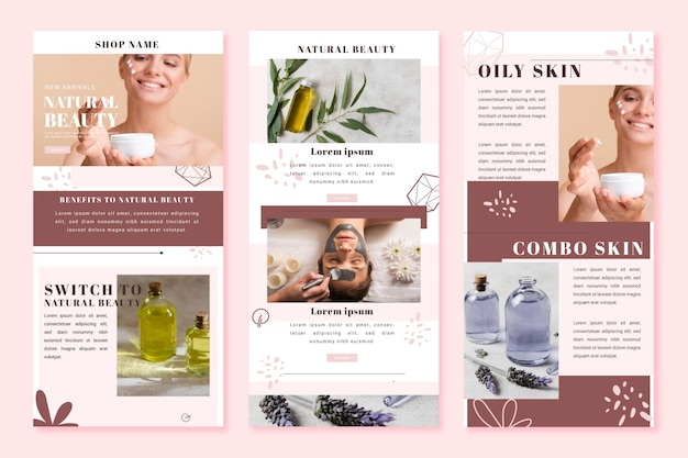 Ecommerce email template collection