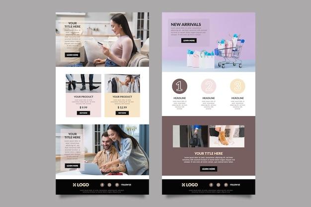 Modello di email e-commerce
