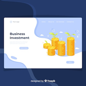 Экономическая целевая страница