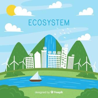Sfondo dell'ecosistema