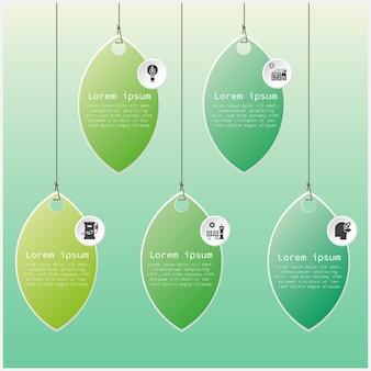 Ecosystem infographic leaf