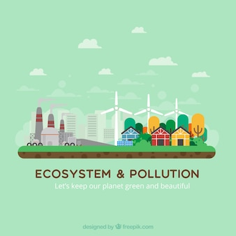 Ecosystem and pollution design