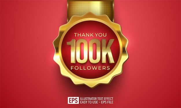 Editable 100k social media network followers and connections