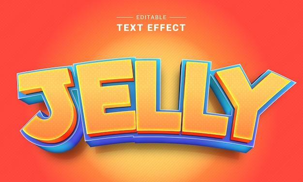 Editable 3d cartoon text effect for illustrator