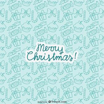 Editable christmas pattern