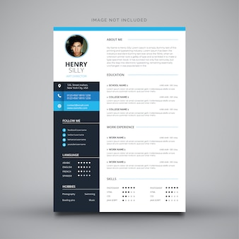 Editable cv format download
