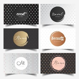 Editable feminine logo design