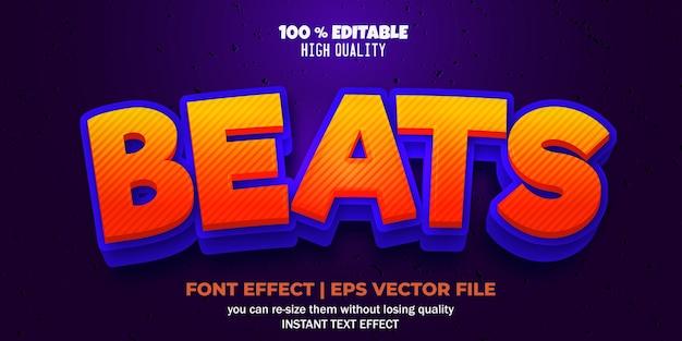 편집 가능한 글꼴 효과는 텍스트 스타일을 능가합니다.