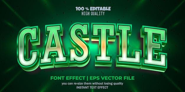 편집 가능한 글꼴 효과 성 텍스트 스타일