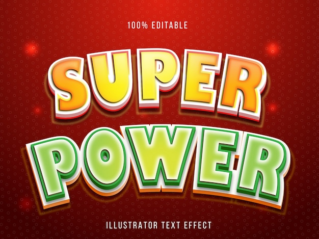 Editable font effect - sweet cocolate title style